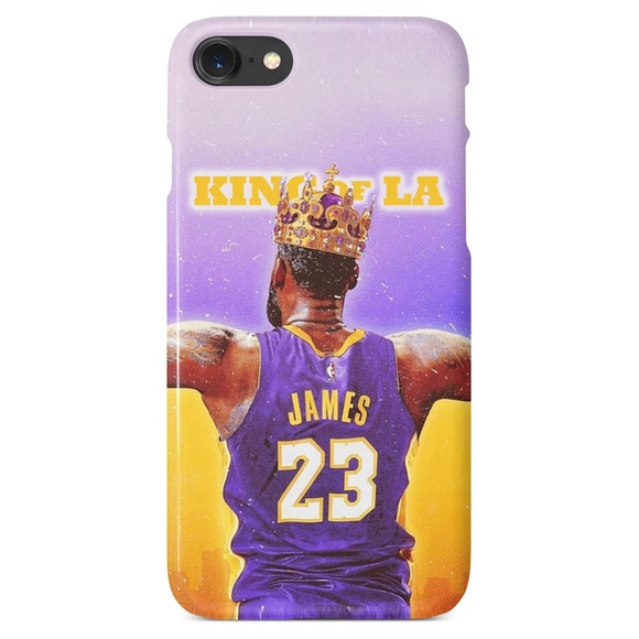 93dabde1b6cf Lebron James 23 King of LA Lakers iPhone   Samsung